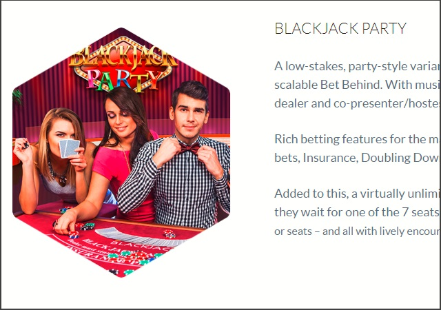 【息抜きに】BlackJack Party:ブラックジャックパーティー