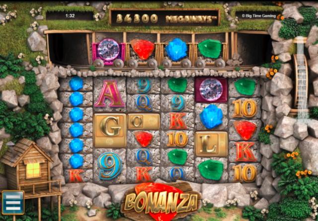【Big Time Gaming】Bonanza(ボナンザ)