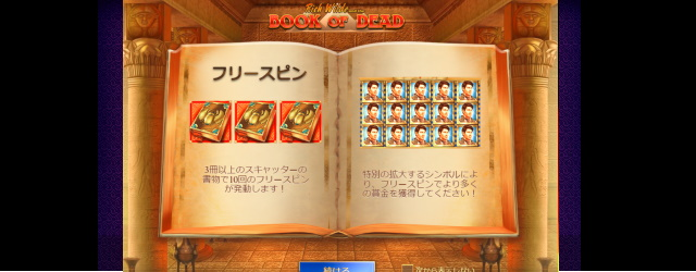 Book Of Dead(ブックオブデッド)