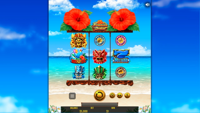 Hawaiian Dream(ハワイアンドリーム)のゲーム性