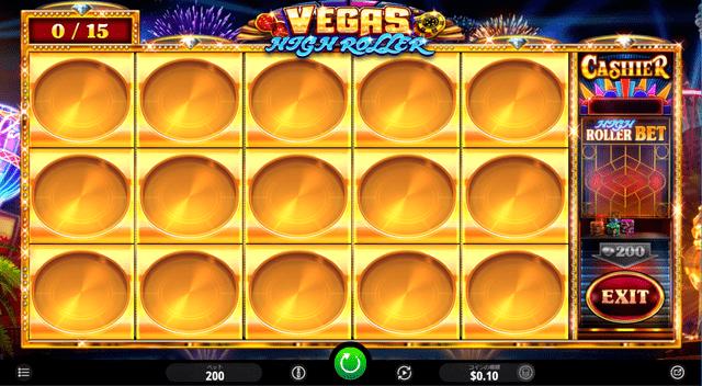 Vegas High Roller(ベガスハイローラー)のフリースピン