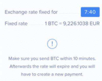 10分以内に自分の仮想通貨ウォレットの送金画面にペースト