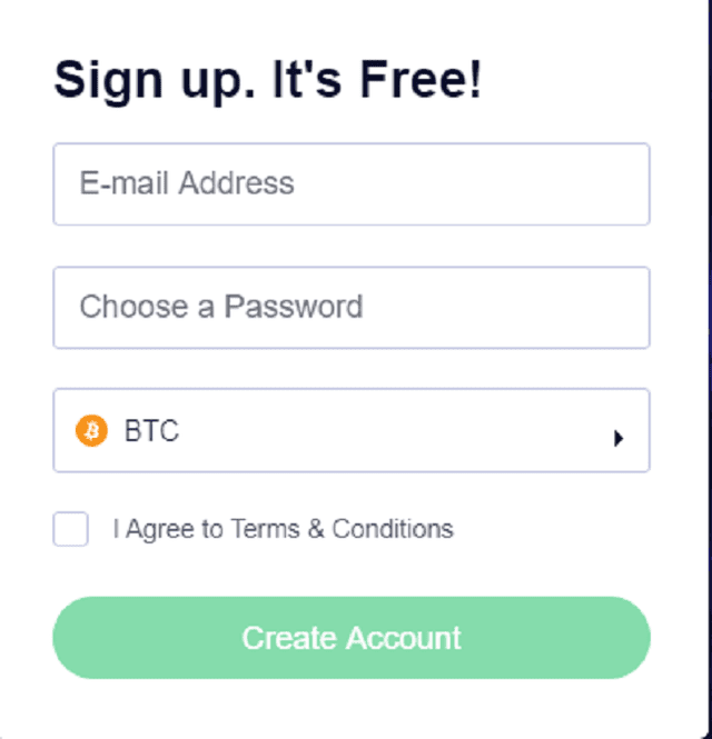 エムビットカジノユーザー登録画面